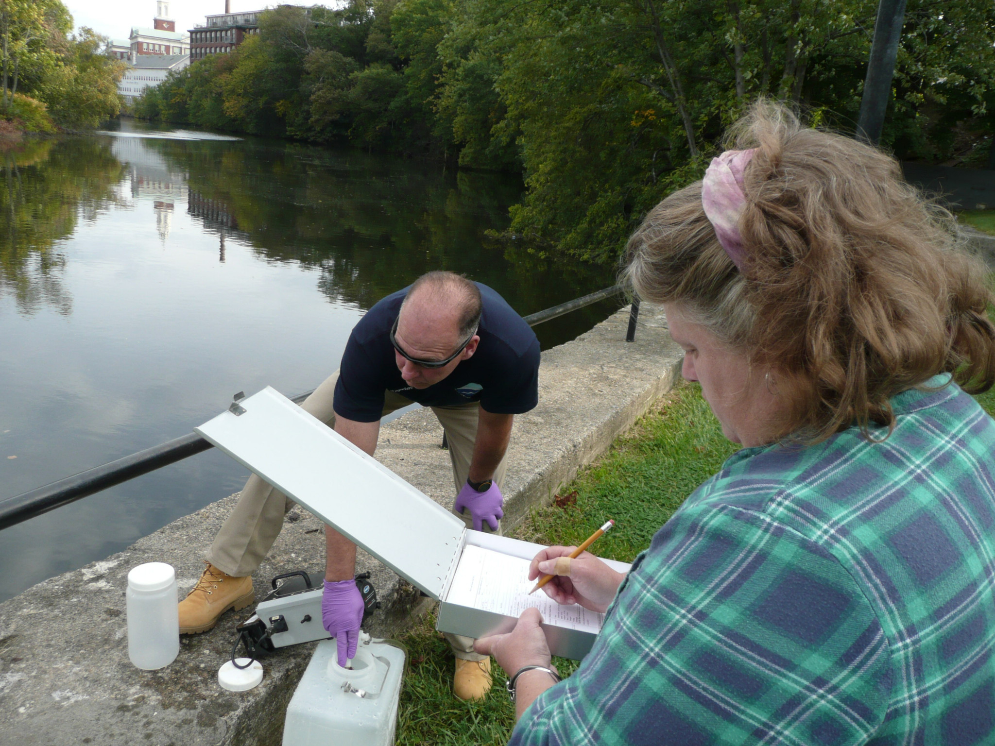 Blackstone River Water Quality Study | Water Resources Research Center